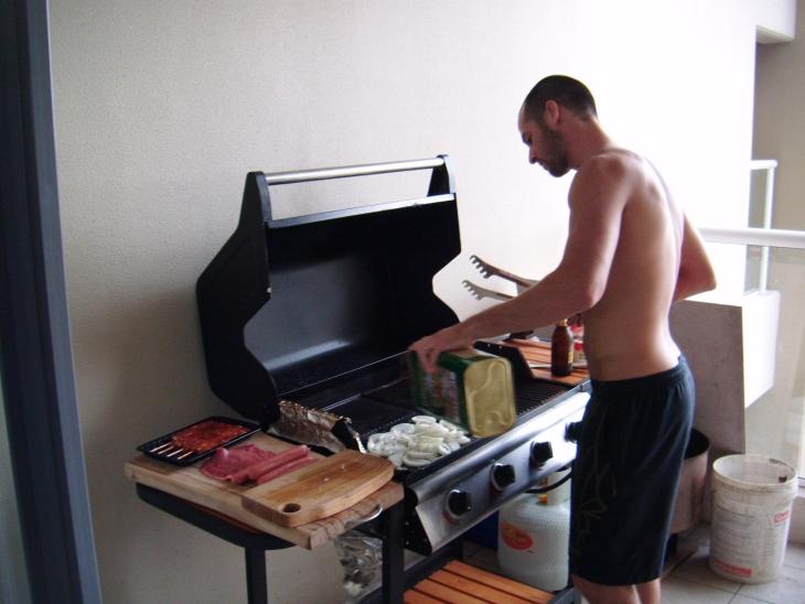 La barbecue mania