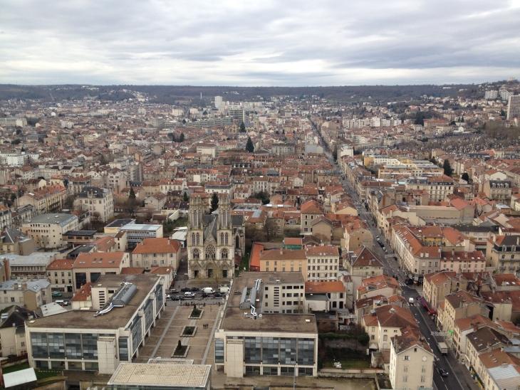 Nancy, vue depuis la tour Thiers