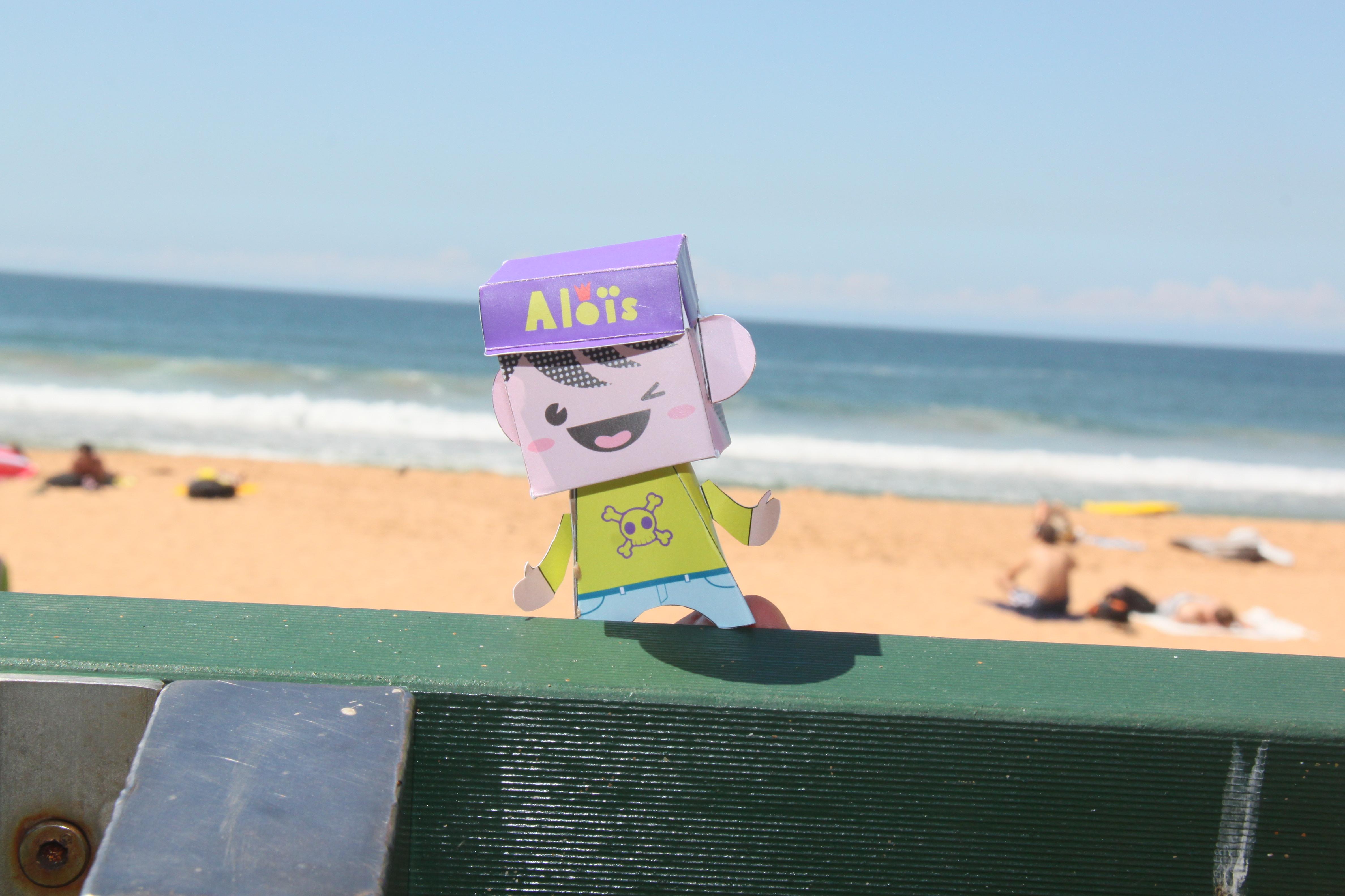 Mini-aloïs en voyage en australie